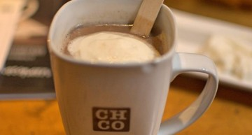 Chocolate Company: knusse koffiebar/chocoladebar