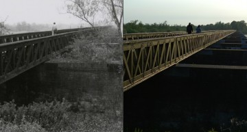 Toen en nu: Moerputtenbrug