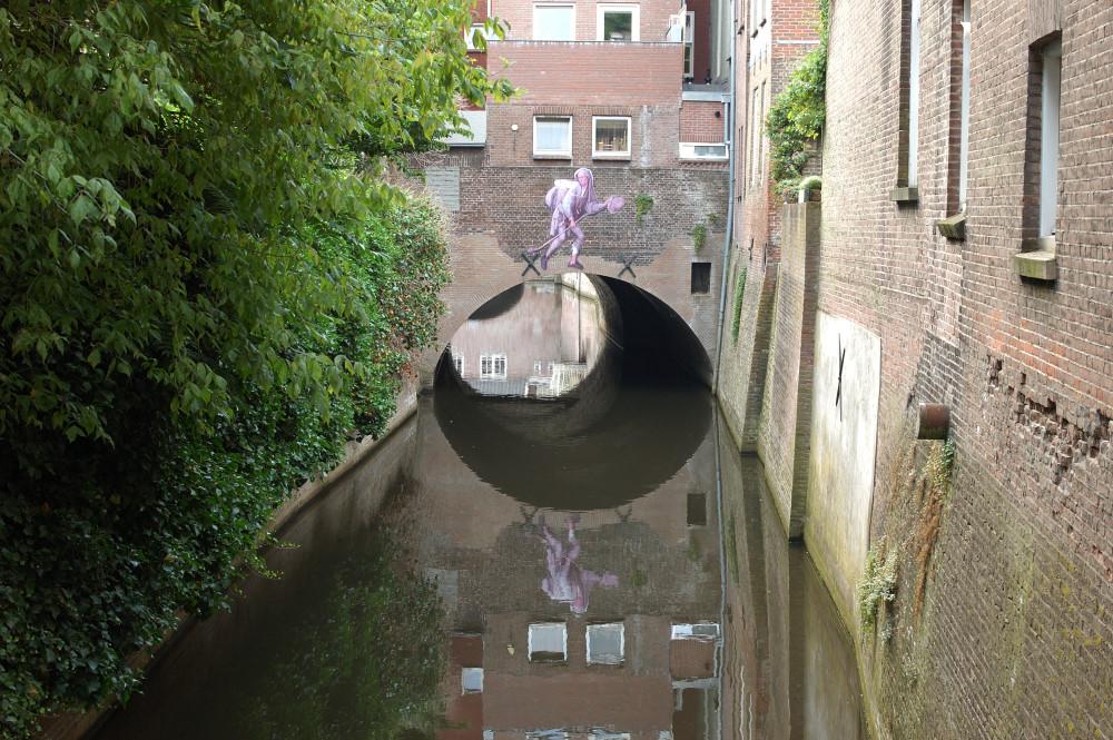 Marskramer muurschildering 1 - Den Bosch Tips
