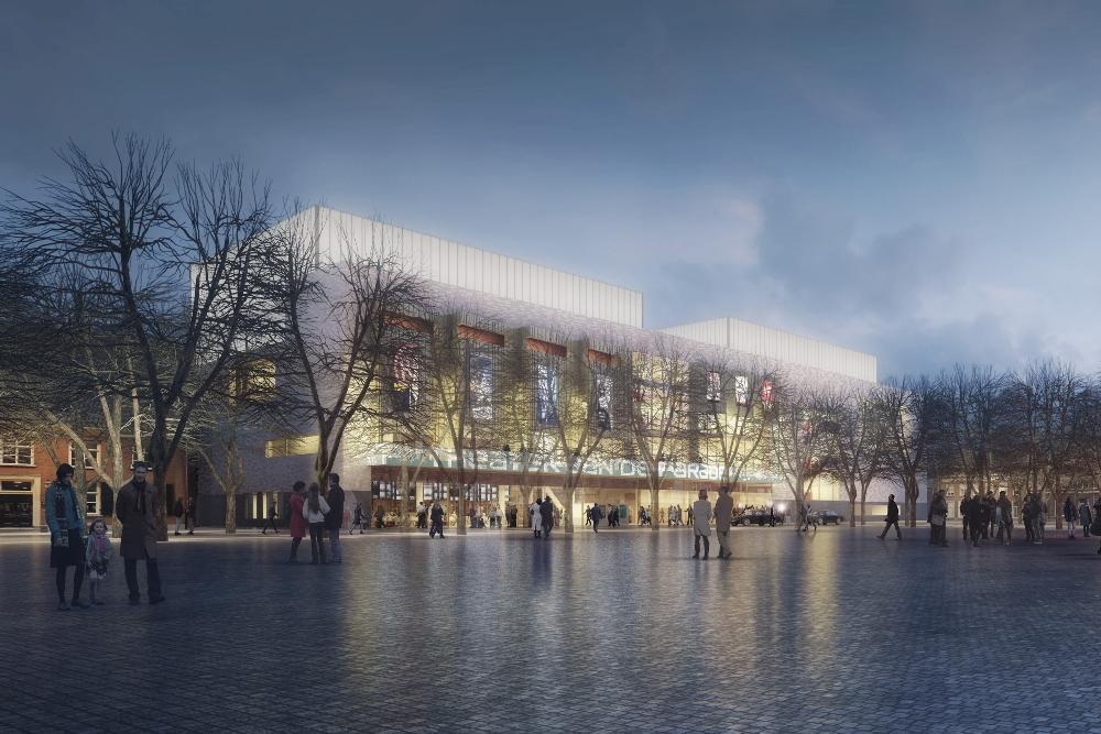 Theater aan de Parade nieuw ontwerp Ector 1 - Den Bosch Tips