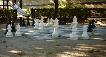 Verborgen park achter Bleekerstraatje