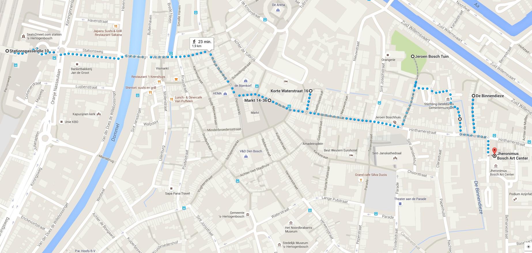 Stadswandeling Jeroen Bosch 1 - Den Bosch Tips