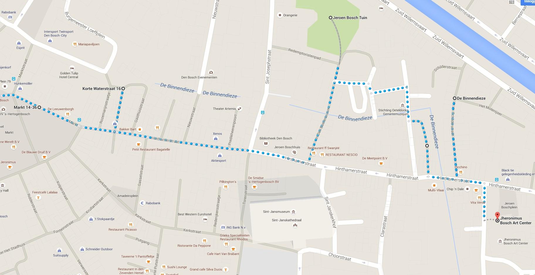Stadswandeling Jeroen Bosch 2 - Den Bosch Tips