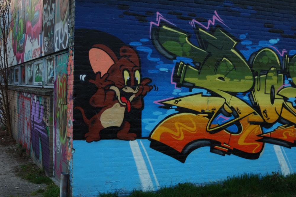 Graffiti Boschveldtuin 21 - Den Bosch Tips