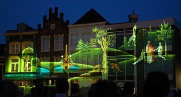 Bosch by Night: lichtshow op de markt